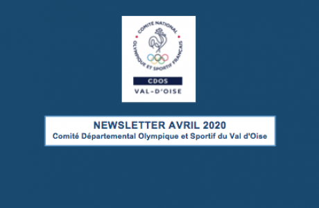 NEWSLETTER CDOS95 AVRIL 2020