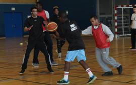 Rencontre de Basketball Adapté à Cergy